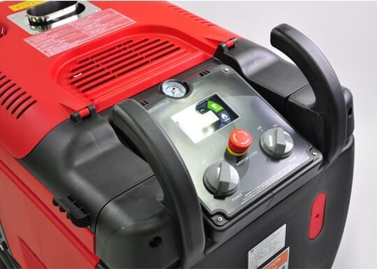 Optima Steamer XD professional external car wash machine