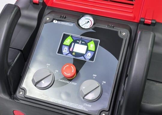 Optima Steamer EST smart control system