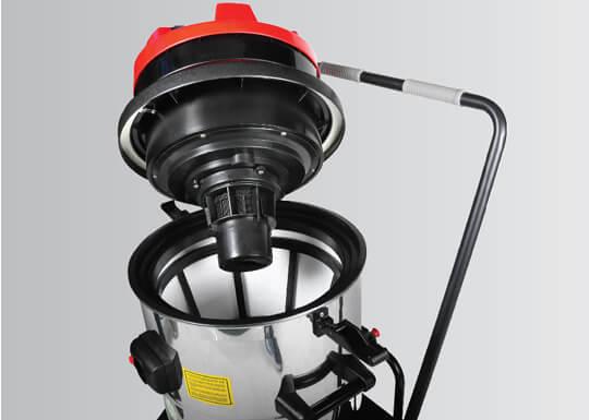 Optima Steamer mirage 1629 dry or wet vacuum